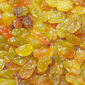 Golden Jumbo Raisins – 240 – RJ